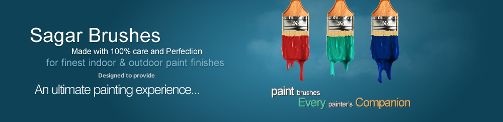 Paint brush manufacturer & Supplier
